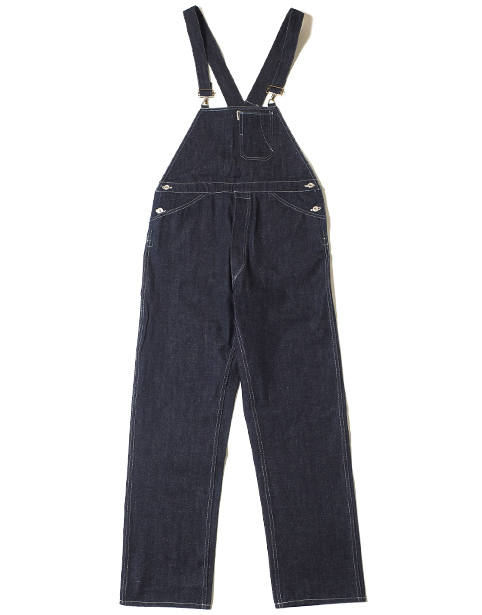 WAREHOUSE Lot.1093 BIB OVERALL DENIM