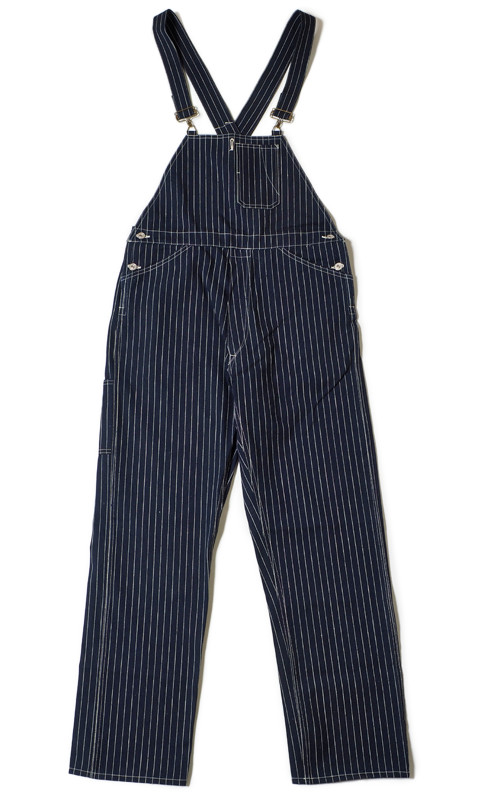 WAREHOUSE Lot.1093 BIB OVERALL STRIPE 前