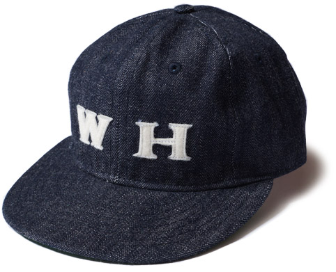 DENIM BASEBALL CAP WAREHOUSE ORIGINAL ディテール1