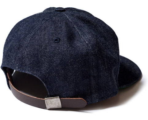 DENIM BASEBALL CAP WAREHOUSE ORIGINAL ディテール2