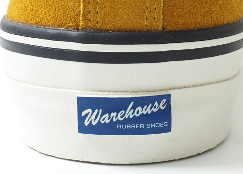 WAREHOUSE Lot.3400 SUEDE SNEAKER ディテール4