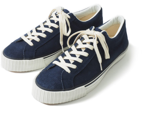 WAREHOUSE Lot.3400 SUEDE SNEAKER ネイビー