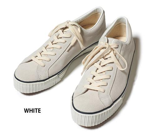 ウエアハウス スウェードスニーカー ホワイト