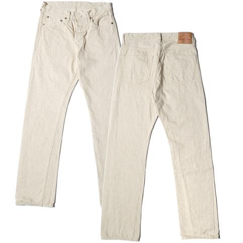 ウエアハウス Lot 800 ホワイトジーンズ