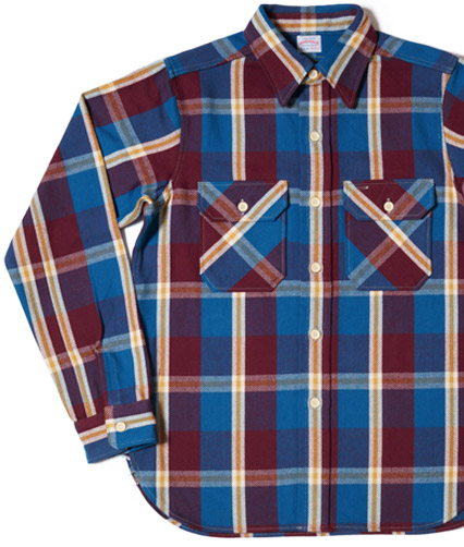 WAREHOUSE(ウエアハウス) Lot 3095 ネルシャツ