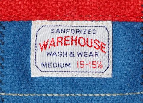 ウエアハウスネルシャツ Lot 3104 C柄 ディテール3