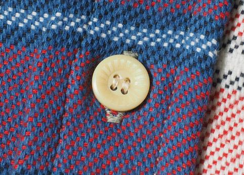 ウエアハウスネルシャツ Lot 3104 C柄 ディテール4