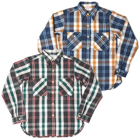 ウエアハウスネルシャツ Lot 3104 B柄