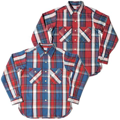 ウエアハウスネルシャツ Lot 3104 C柄