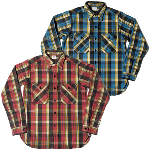 ウエアハウスネルシャツ Lot 3104 D柄