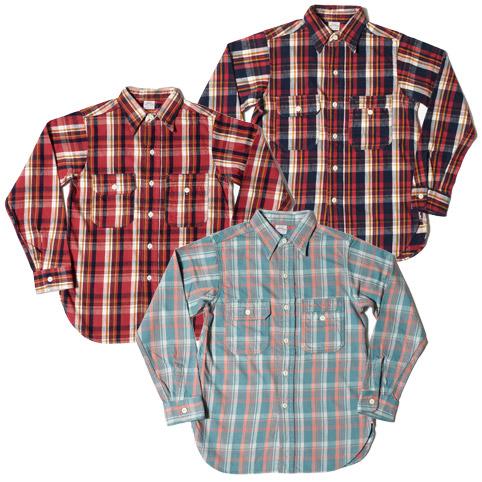 ウエアハウスネルシャツ Lot 3105
