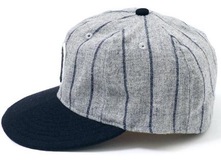 1930年代 大阪タイガース 帽子 ディティール1