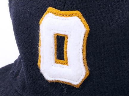 1948年 大阪タイガース 帽子 ディティール2