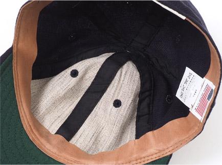 1948年 大阪タイガース 帽子 ディティール3