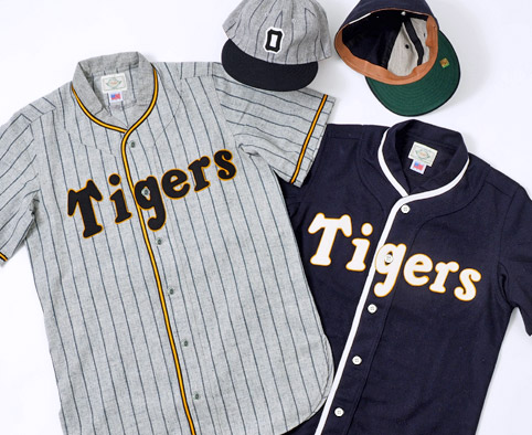 阪神タイガース×EBBETS FIELD FLANNELS×WAREHOUSE OSAKA TIGERS GOODS COLLECTION