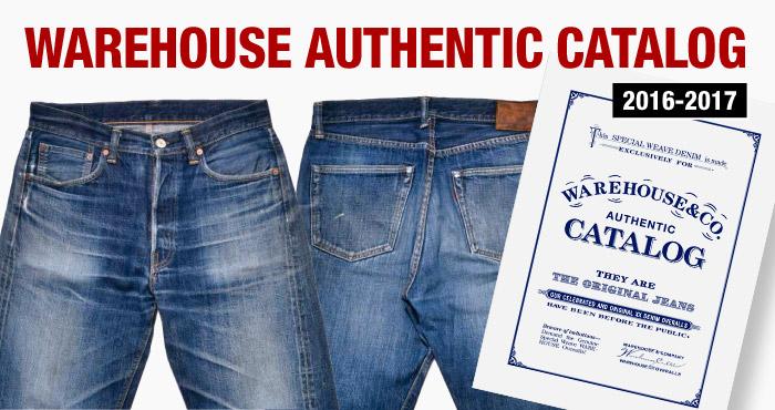 ウエアハウスのスタンダードアイテムだけを掲載した「AUTHENTIC CATALOG」が、最新バージョンへと大幅にアップデート