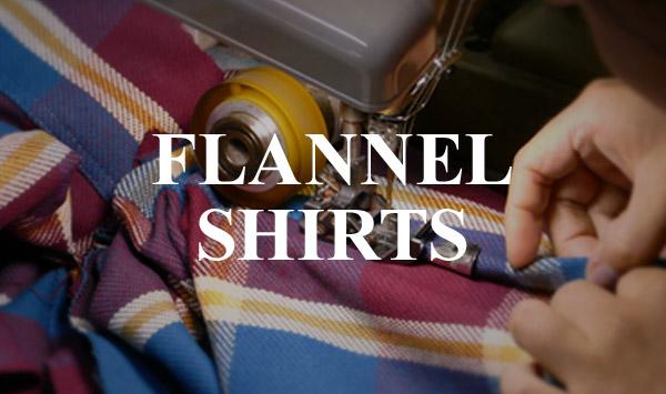 ウエアハウス ネルシャツの生産背景