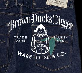 Brown-Duck&Digger オフィシャルサイト
