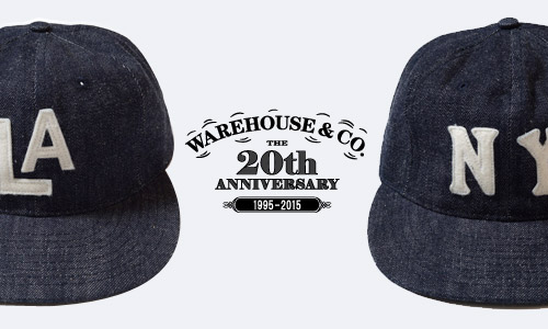 EBBETS FIELD FLANNELS × WAREHOUSE 2015 AUTUMN & WINTER