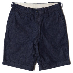 Lot 1085 SHORT PANTS インディゴデニム ONE WASH