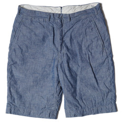 Lot 1079 CHAMBRAY SHORTS ONE WASH