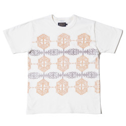 "PENDLETON×WAREHOUSE NATIVE PATTERN T""KHAKI"""