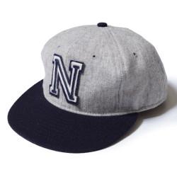 KIKUANA BASEBALL CAP 1940's U.S.NAVY MIDSHIPMEN グレー