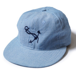 COTTON BASEBALL CAP NAVSTA GREAT LAKES シャンブレー