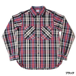 Lot 3095 FLANNEL SHIRTS B柄 ONE WASH