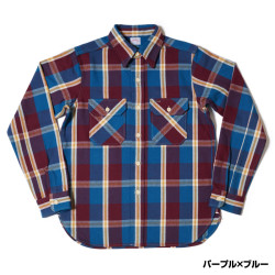 Lot 3095 FLANNEL SHIRTS D柄 ONE WSAH