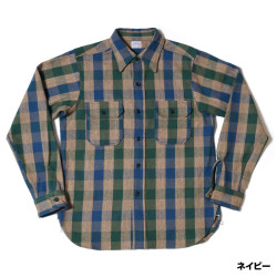Lot 3095 FLANNEL SHIRTS E柄 ONE WASH