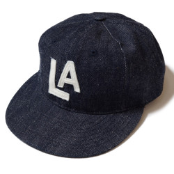 "DENIM BASEBALL CAP ""LOS ANGELES ANGELS"""