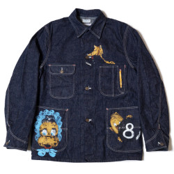 HC-242 1950's Military Art Denim Coverall PRINTED