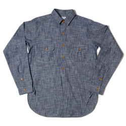 HC-237 1890's Sack Pocket Coat Style Shirts CHAMBRAY