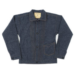 "HC-245 1880's The ""STANDARD"" Indigo Blouse"