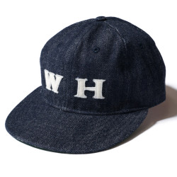 "DENIM BASEBALL CAP ""WAREHOUSE ORIGINAL"""