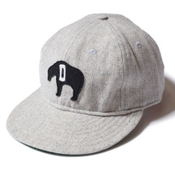 "WOOL BASEBALL CAP ""DETROIT CUBS 1935"""