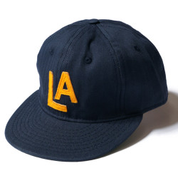 "COTTON BASEBALL CAP ""LOS ANGELES ANGELS 1942"""