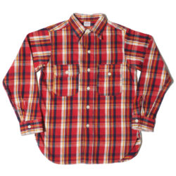 Lot 3105 FLANNEL SHIRTS A柄 ONE WASH