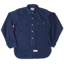 HC-251 Coat style Indigo plain shirts O/W