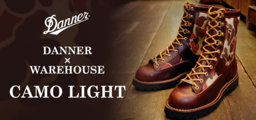 DANNER × WAREHOUSE CAMO LIGHT