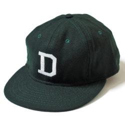 """1940'S VARSITY WOOL BASEBALL CAP  """"D"""""""