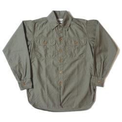 HC-256 1920's Army Flap Sateen Shirts O/W