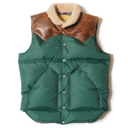 ROCKY MOUNTAIN×WAREHOUSE & CO. NYLON CHRISTY VEST