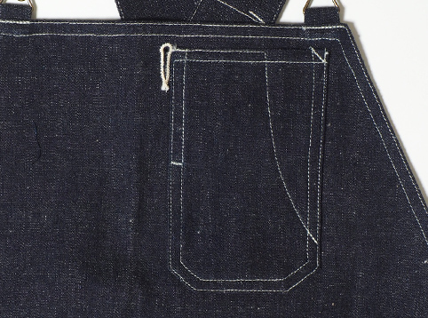 WAREHOUSE & CO. Lot.1093 BIB OVERALL DENIM ディティール4
