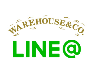 ウエアハウス直営店LINEアカウント