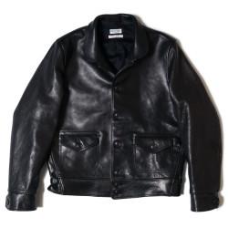 HC-240 1930's Short Type Horse Leather Sports Jacket