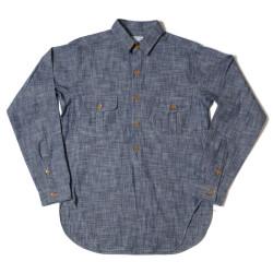 HC-237 1890's Sack Pocket Coat Style Shirts CHAMBRAY