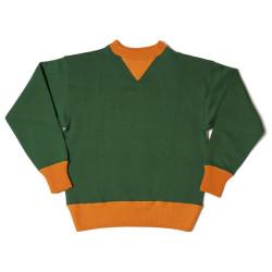 HC-M65 1930's HC 2tone Double V Sweatshirts PLAIN