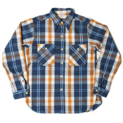 Lot 3104 FLANNEL SHIRTS B柄 ONE WASH